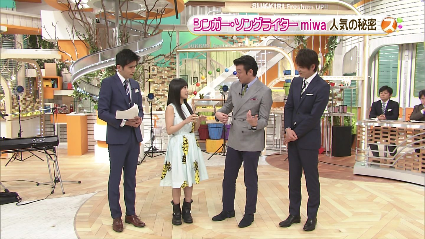 miwa in スッキリ 0004