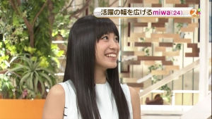 miwa in スッキリ 0001