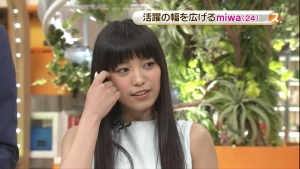 miwa in スッキリ 0002