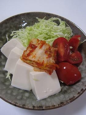 20150816 豆腐サラダ