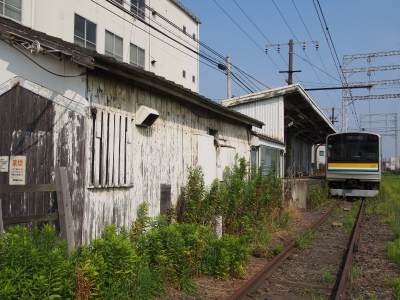 鶴見線 大川駅 205系