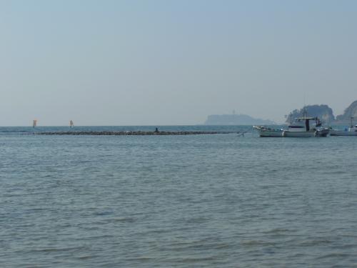 和賀江島から江の島
