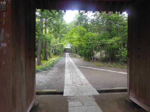 寿福寺・参道