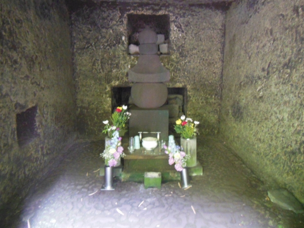 政子墓・寿福寺