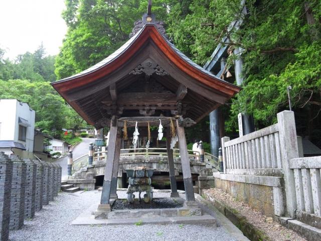 諏訪大社上社本宮の参道橋 (5)