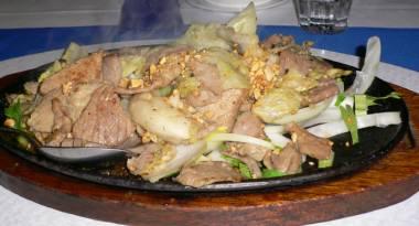豚肉とセロリ
