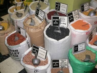 いろいろな種類の豆