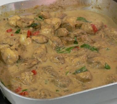 チキン カレーソース