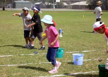 水運び競争