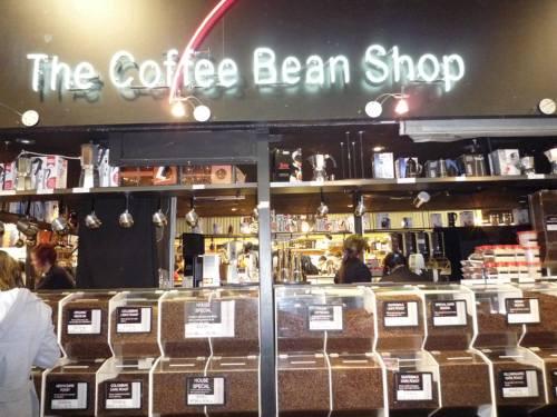 コーヒー豆のお店
