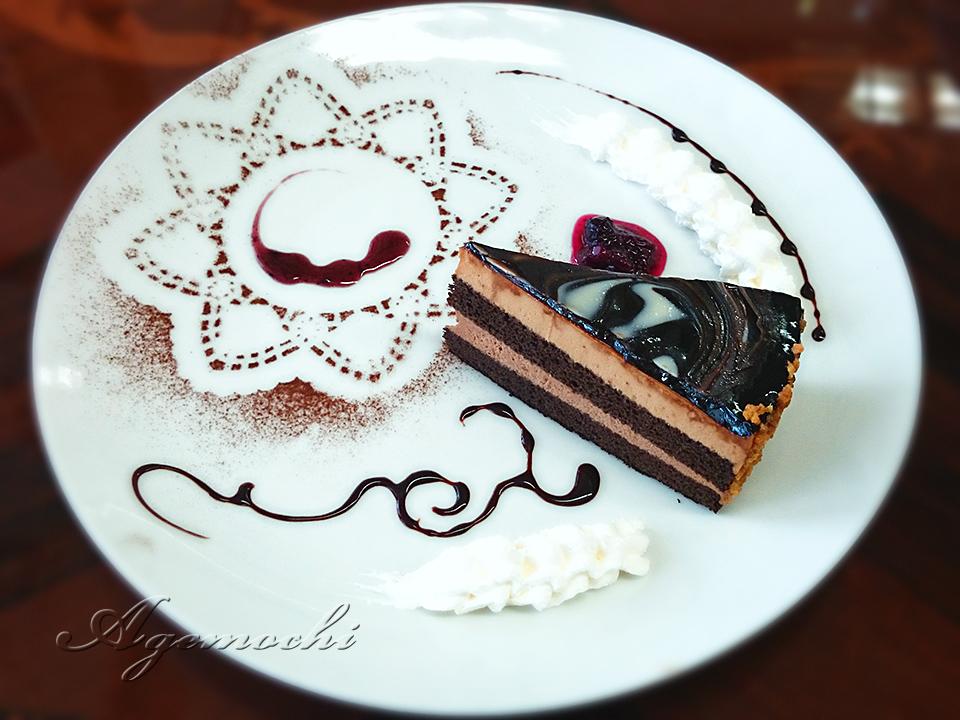 ケーキセットのケーキ