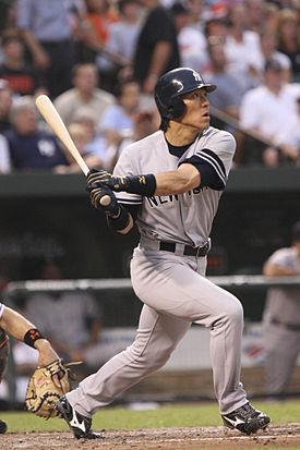 松井 秀喜 ヤンキース時代(2007年)