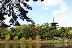 奈良県立都市公園 奈良公園(猿沢池)