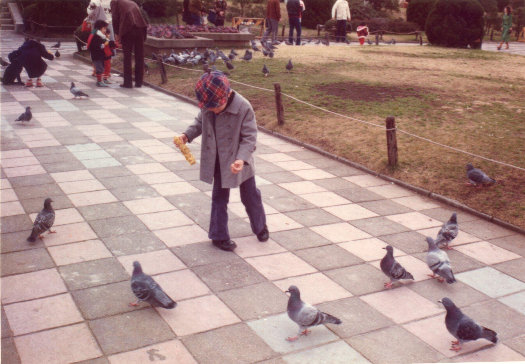 横浜山下公園・氷川丸(1978年1月2日)