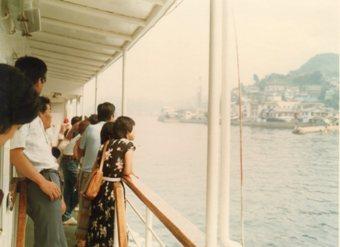 松山から広島の船1980年8月472