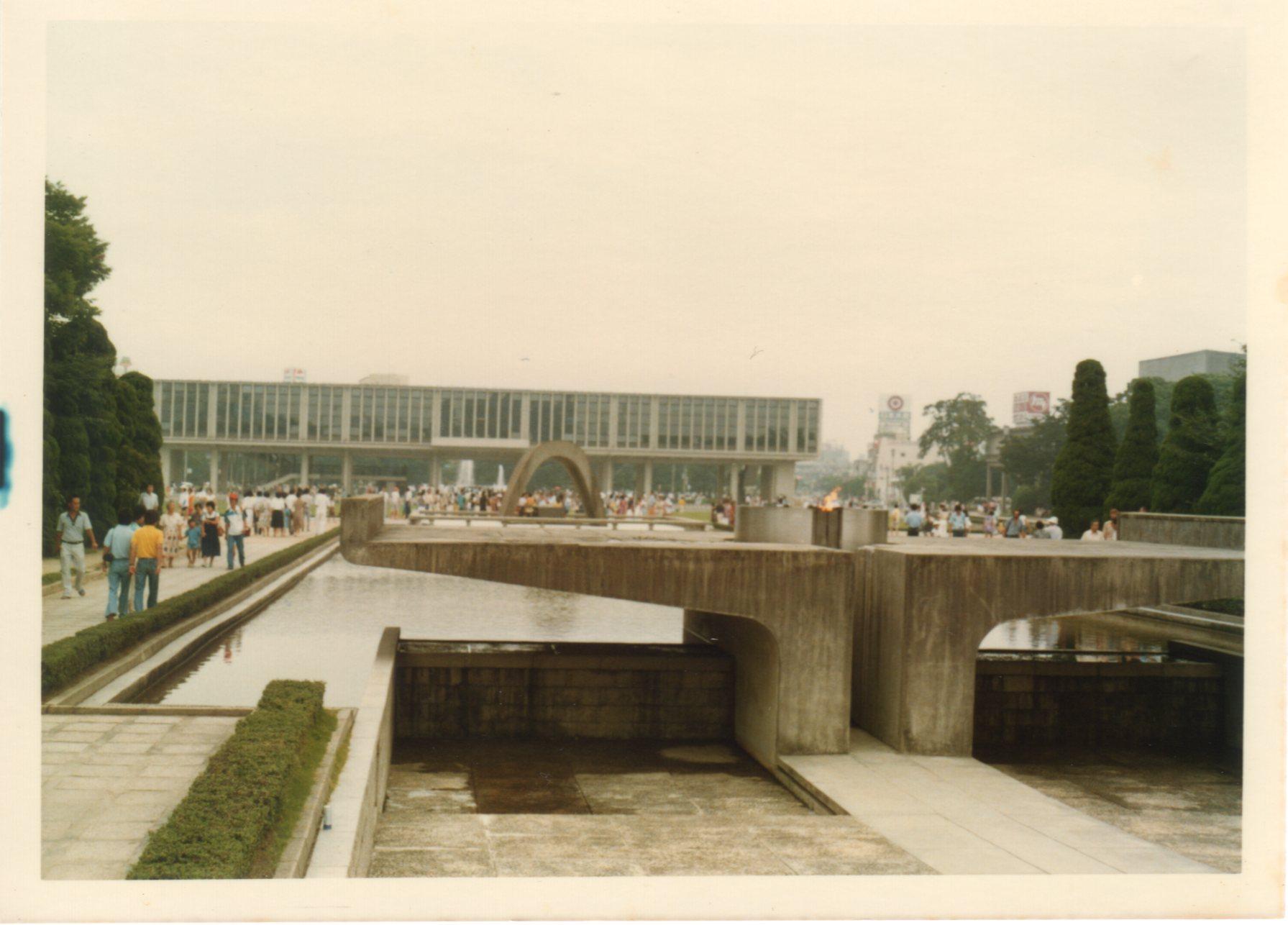 広島平和記念公園1980年8月476