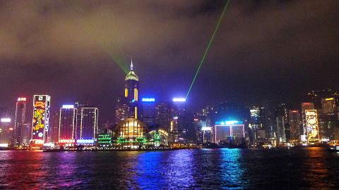 香港2日目ディナークルーズ⑦-1