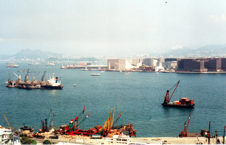 香港1989年5月(台風)①-1