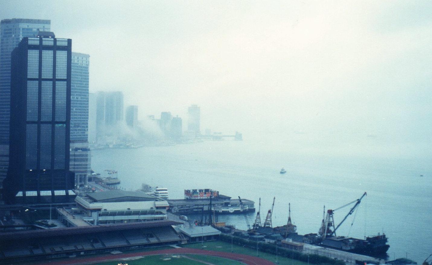 香港1989年5月(台風)③-1