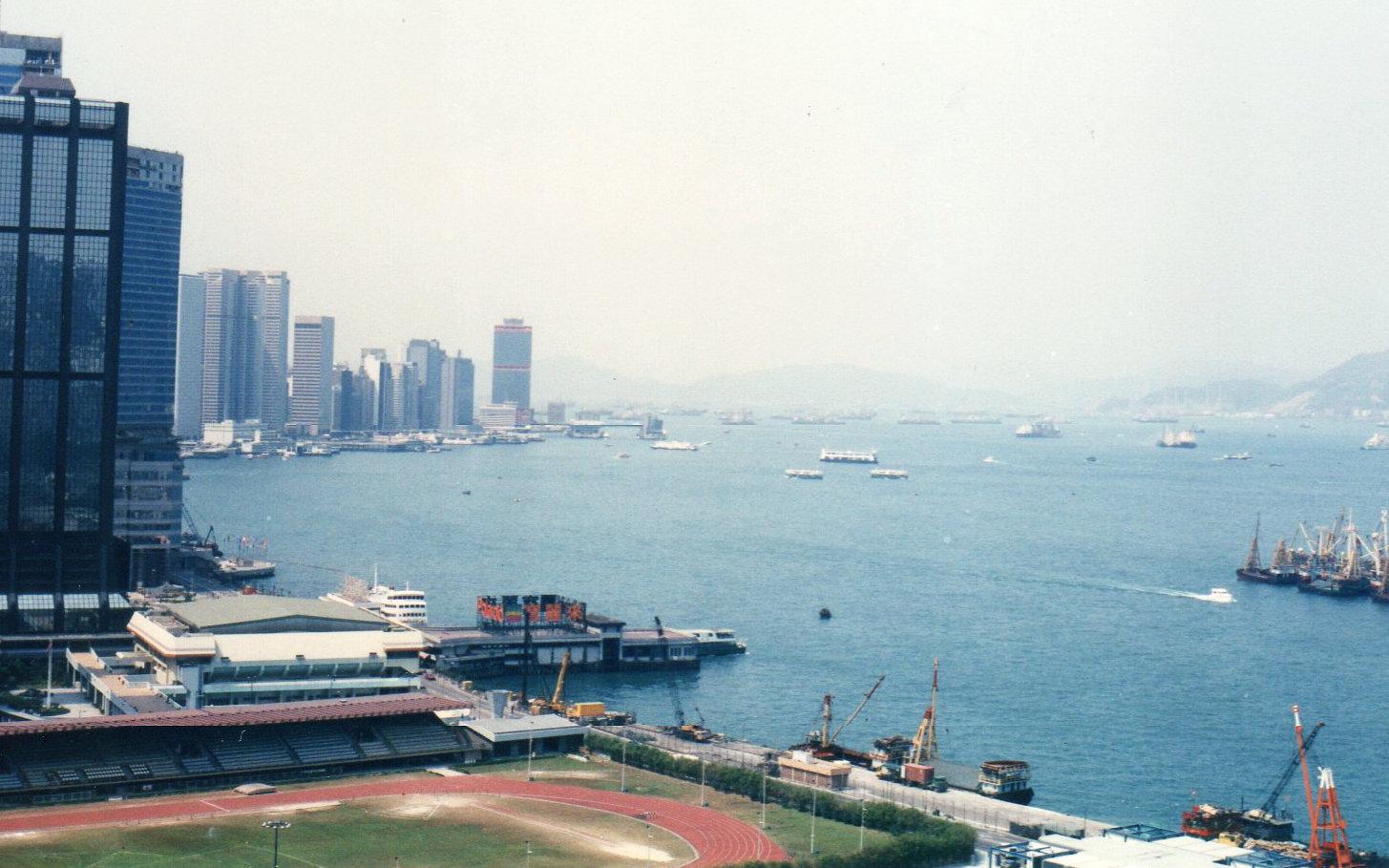 香港1989年5月(台風)②-1