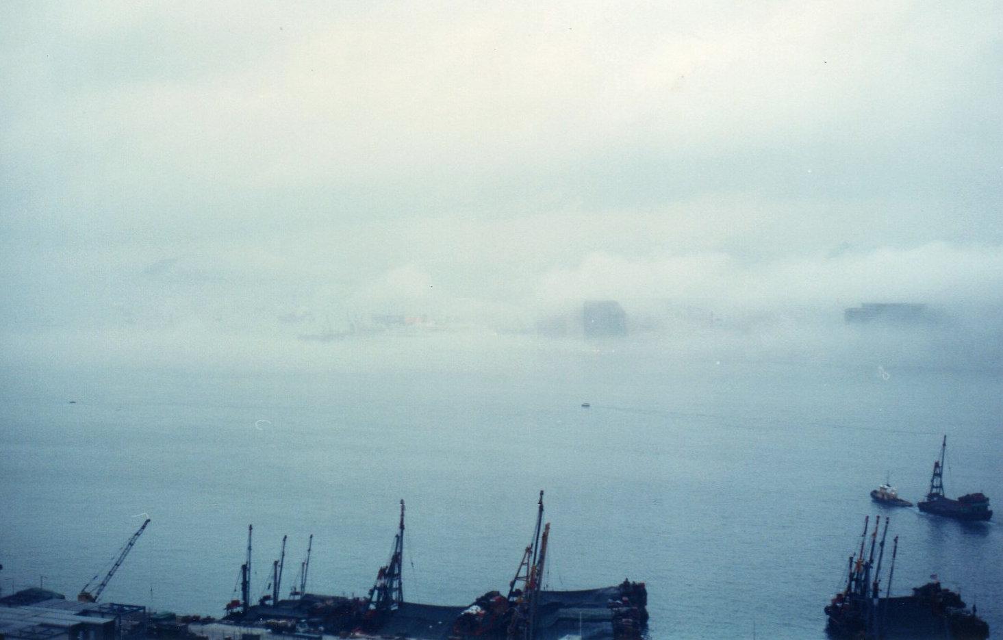 香港1989年5月(台風)④-1