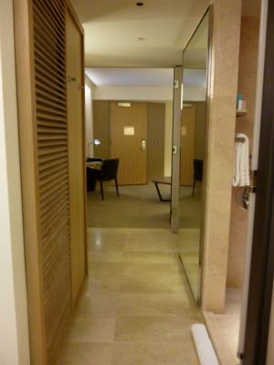部屋の渡り廊下