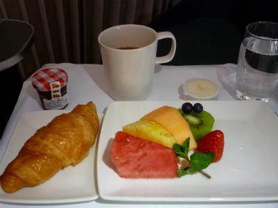 関空行き朝食