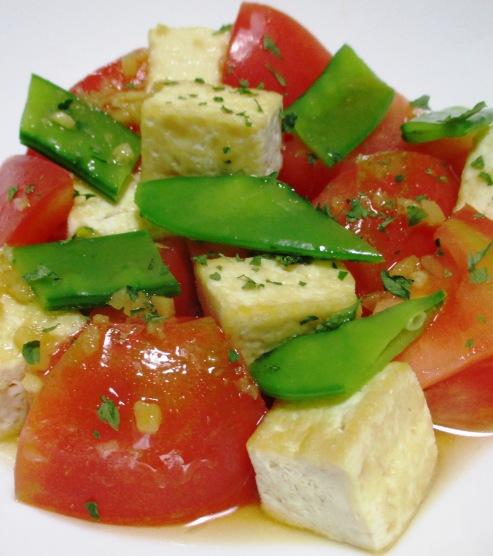 豆腐サラダ 大