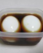 和風豆腐ラーメン 材料②煮卵