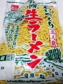和風豆腐ラーメン 材料③中華麺