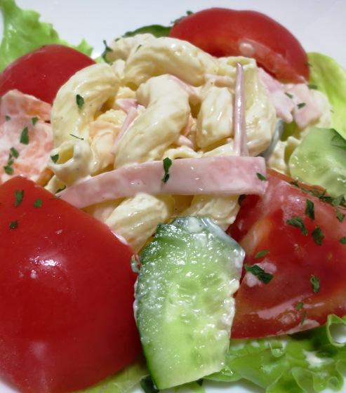 トマト&マカロニサラダ B