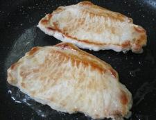 豚のしょうが焼き 焙煎ごま仕立て 調理②