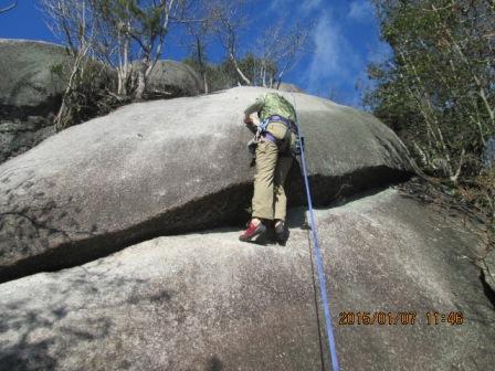 20150107 屏風岩 ロンパールーム