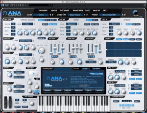 sonic academy ANA