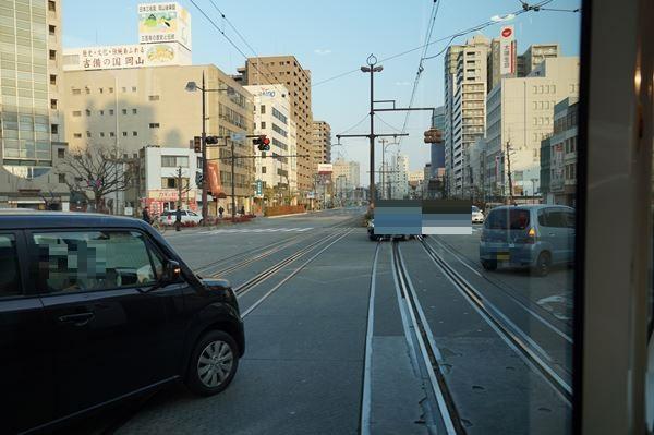 清輝橋線へ