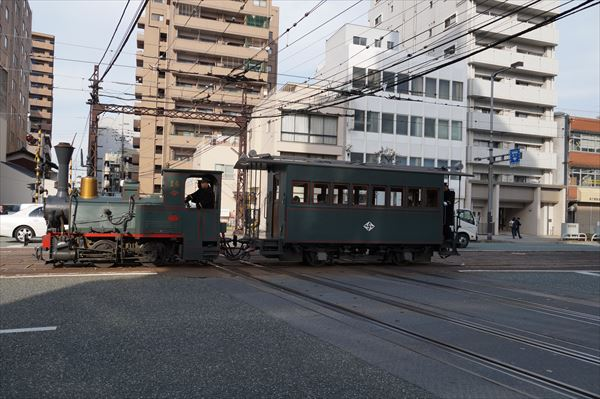 珍しく坊っちゃん列車