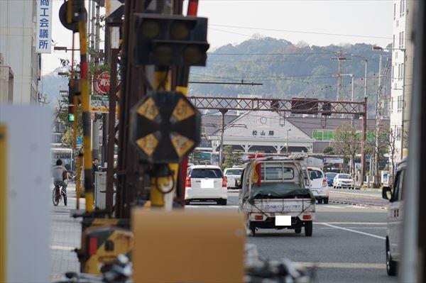 JR松山駅まで数百メートル