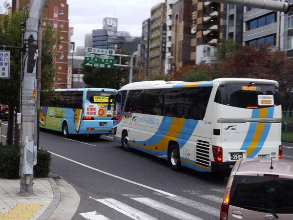 フットバスやJRバスに続いて