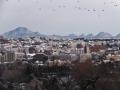 青葉山から見る七ツ森