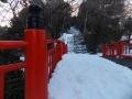 亀岡八幡の登口
