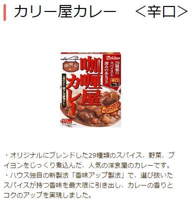 カリー屋カレー <辛口>