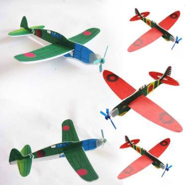 手投げグライダー飛行機 模型飛行機1