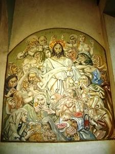礼拝堂内の壁画