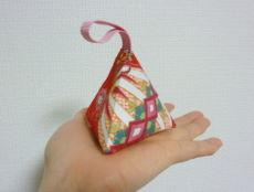 ピラミッド型 布製ポチ袋