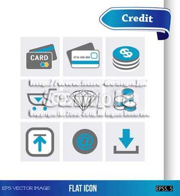 ロゴ アイコン クレジット
