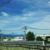 1新幹線富士山