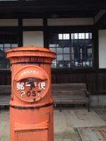 18大社駅のポスト
