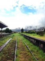 19大社駅の線路