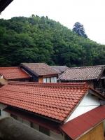 1赤い瓦屋根