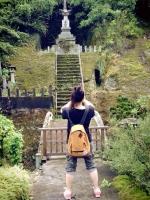 4羅漢寺の塔撮影